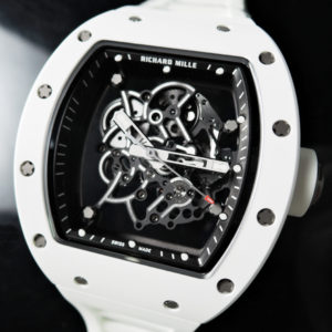 RICHARD MILLE RM055 バッハワトソン 手巻き チタン×ATZセラミックス 未使用【委託時計】