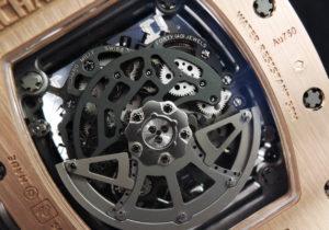 RICHARD MILLE RM030 オートマチック デクッチャブル ローター 18KRG  チタン【委託時計】